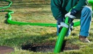 pompage de fosse septique, pompage d'eaux, pompage de fosse