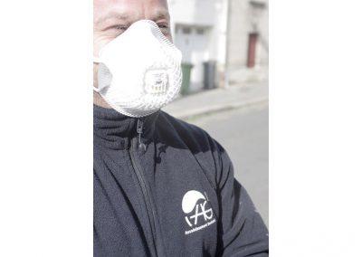 Masque de protection anti poussière