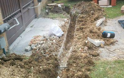 Raccordement canalisation d'eau à Lormont