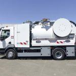 camion hydrocureur aspirateur cleanfos