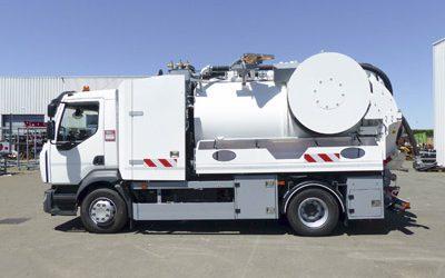 Tout savoir sur le fonctionnement du nouveau camion hydrocureur aspirateur Cleanfos d'AG Assainissement.