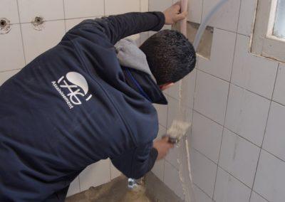 Nourrice de distribution eau chaude / eau froide